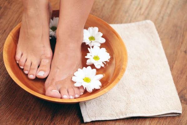 как избавиться от натоптышей на пальцах ног в домашних условиях