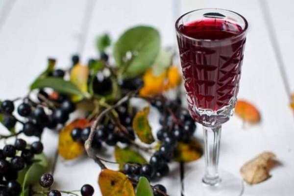 черноплодная рябина заготовки на зиму вино