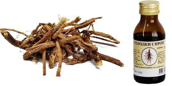 солодка корень применение сироп