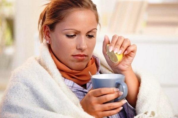лечение простуды чаем с имбирем