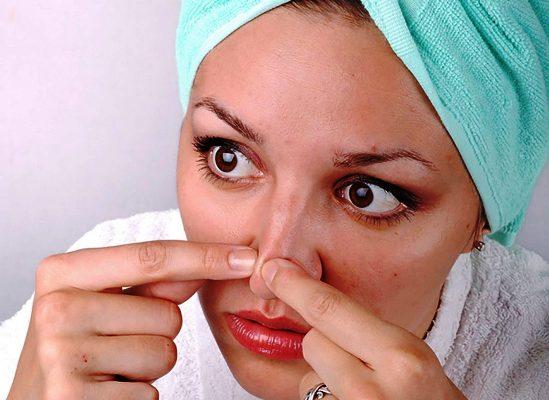 черные точки на носу как избавиться