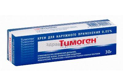 дерматит крем тимоген