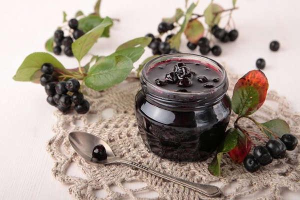 черноплодная рябина заготовки на зиму без сахара