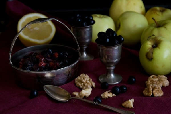черноплодная рябина с лимоном заготовки на зиму