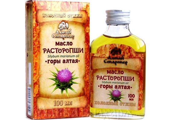 расторопши масло польза и вред как принимать