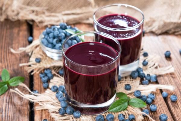 сок из ягод черники польза для организма