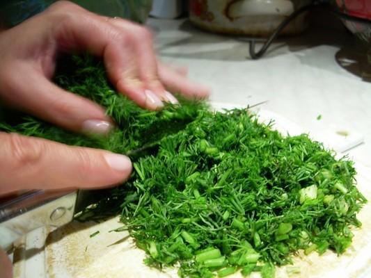 использование укропа в кулинарии