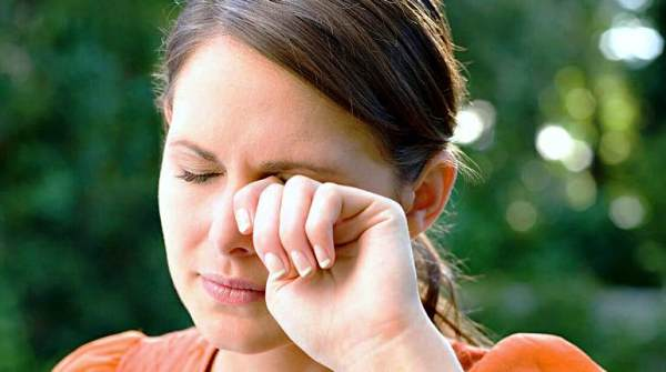 лечение аллергии глаз травами