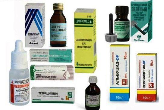 лекарство от ячменя на глазу капли