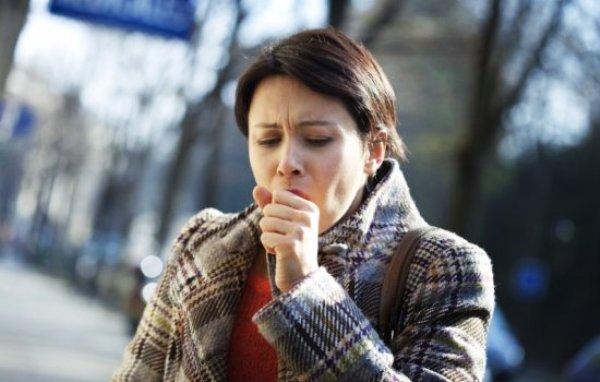 сухой кашель у взрослого першение в горле