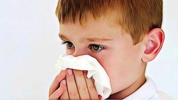 ребенок насморк нос заложенность