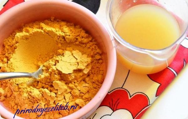 горчица для приготовления домашней маски для волос