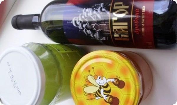 народное лечение желудка алоэ и мед