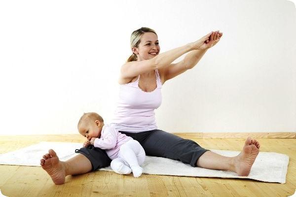 как быстро убрать живот женщине после родов