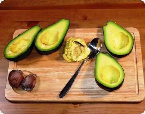 косточка авокадо кушать