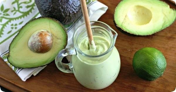 соус из авокадо в кулинарии